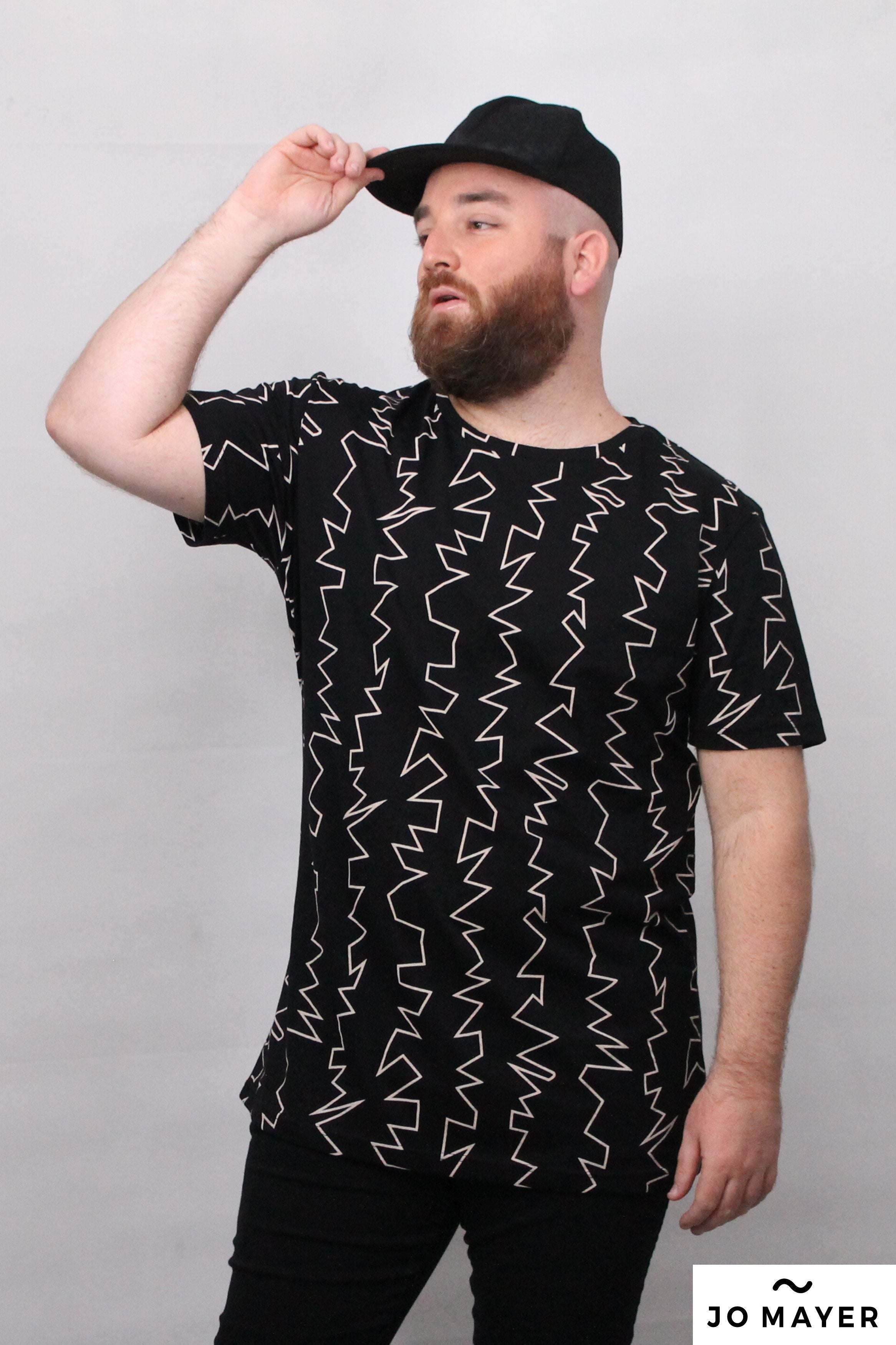 Curt Plus Size T shirt