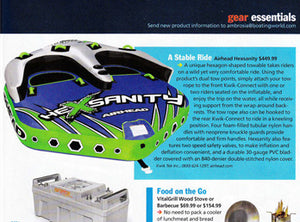 Airhead Hexsanity in Boating World's December Gear Essentials