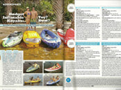 Airhead Baja Kayak reviewed in the January 2014 issue of Boating World