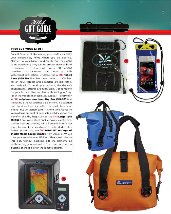 Boating World features Dry Pak in their 2014 Holiday Gift Guide.