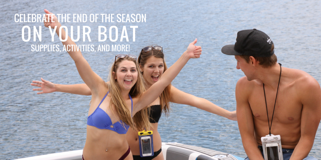 Celebrate Fall: Throw a Last Hurrah on your Boat