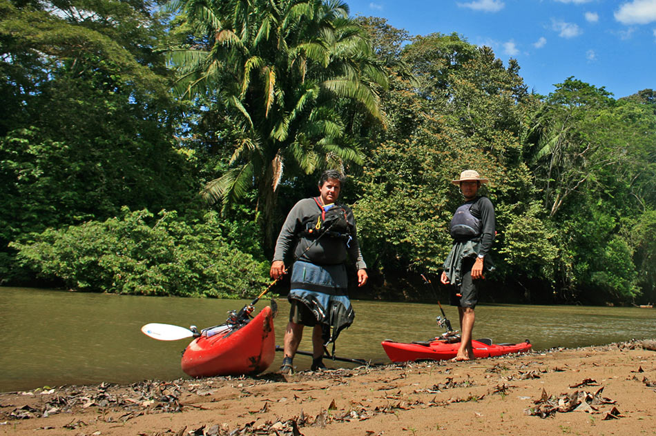 Kayaking in Costa Rica with Dry Pak