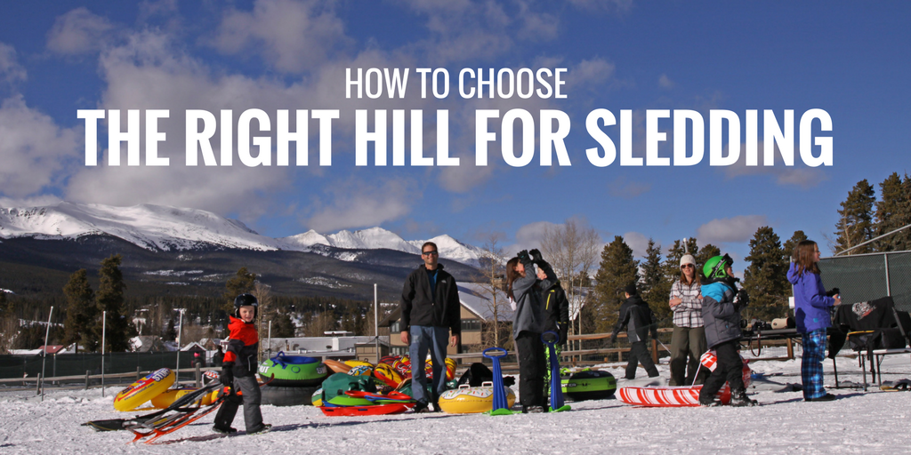 How to Choose the Right Hill for Sledding