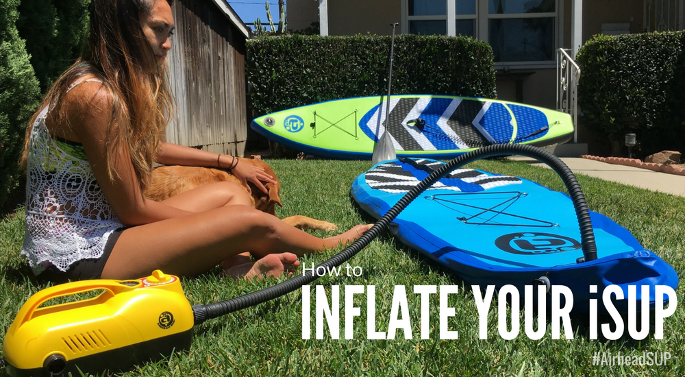 How to Use a Paddle Board Pump to Inflate Your iSUP