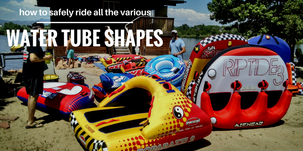 Which Towable Water Tube Shape is Right for My Family?