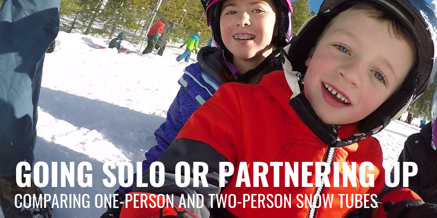 Going Solo or Partnering Up? Comparing One-Person and Two-Person Snow Tubes