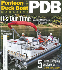 Airhead EZ-Wake Trainer reviewed in the June issue of Pontoon & Deckboat Magazine