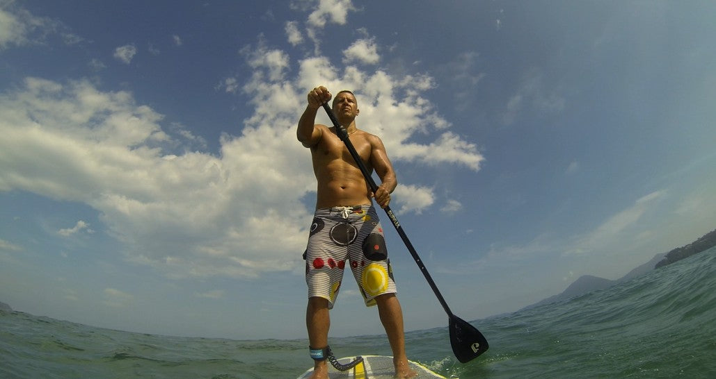 Stand Up Paddle Boarders in Brazil love the Airhead Na Pali SUP