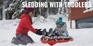 Sledding with Toddlers