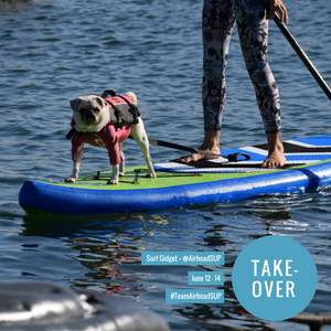 SUP with Your Pup: A Special Instagram Takeover