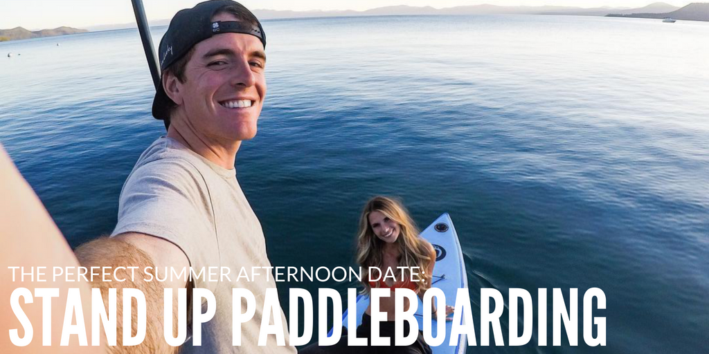 The Perfect Summer Afternoon Date: Stand Up Paddleboarding
