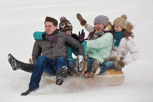 Sledding is Fun for Adults Too