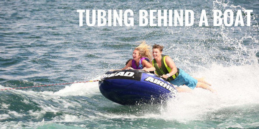 Airhead_Blog-Ideal_Conditions_for_Tubing_Behind_Boat
