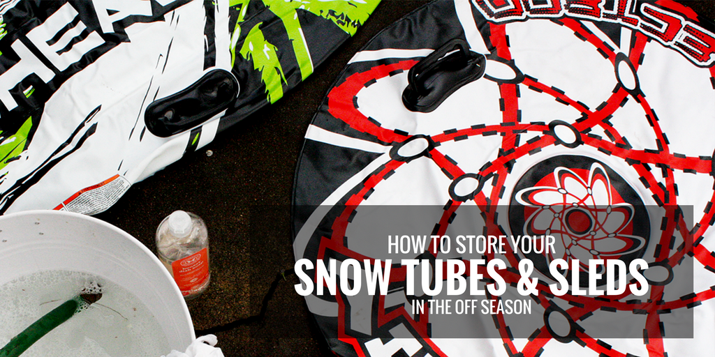 As the snow melts and summer comes upon us youu0027ll likely be trading your snow tubes and sledding gear for warmer beach-ready clothing. & Blog - Off-Season Storage: Protecting Your Snow Tubes and Sledding Gear