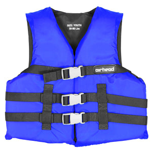 Airhead-General Boating Child-Adult PFD-Blue / Super Large
