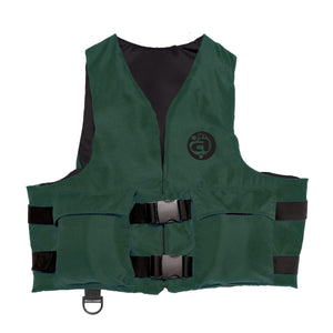 Airhead-Sportsman Youth & Adult Life Vest-Hunter Green / Super Large