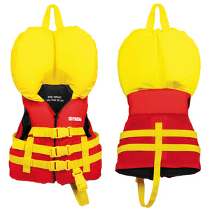 Airhead-Classic Infant Life Vest-Red