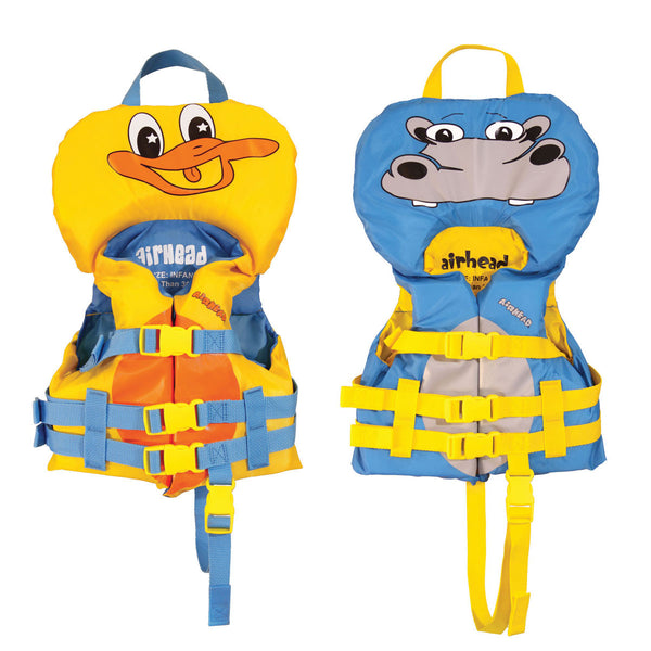Airhead-Duckie & Hippo Infant Life Vest-