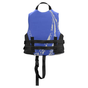 Airhead-Swoosh Neolite Kwik-Dry Child-Adult Life Vest-Blue / Child