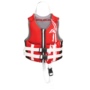 Airhead-Swoosh Neolite Kwik-Dry Child-Adult Life Vest-Red / S