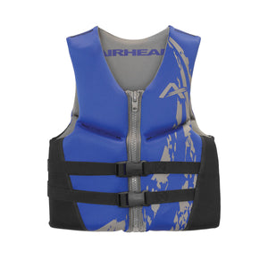 Airhead-Swoosh Neolite Kwik-Dry Child-Adult Life Vest-Blue / XL