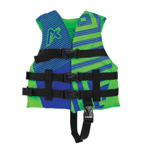 Airhead-Trend Boy's-Men's Life Vest-Green/Blue / Child