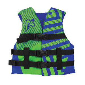 Airhead-Trend Boy's-Men's Life Vest-Blue/Green / Youth