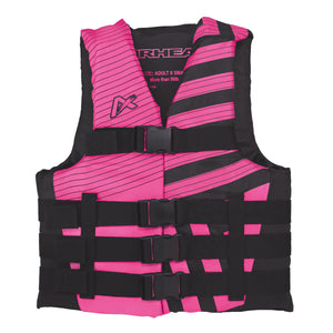 Airhead-Trend Girls-Women's Life Vest-Pink/Black / 2XL/3XL