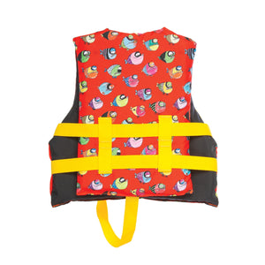 Airhead-Crayon Fish Child Life Vest-