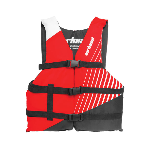 Airhead-Ramp Child-Adult Life Vest-Red / Adult Universal