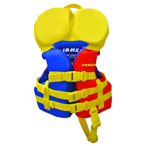 Infant Nylon Life Vest, Red, Blue, Yellow