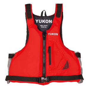 Airhead-Base Paddle Vest Youth-Adult-Red / Youth