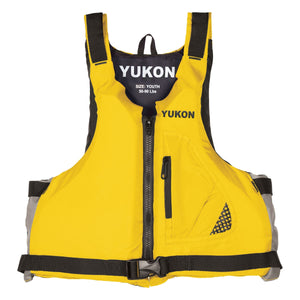Airhead-Base Paddle Vest Youth-Adult-Yellow / Youth