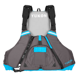 Airhead-Epic Adult Paddle Vest-Carbon/Blue / 4XL/6XL