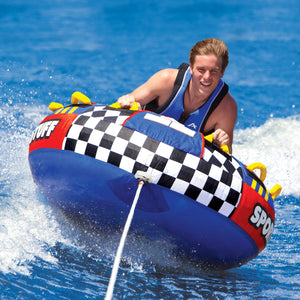 Rascal - inflatable 1 rider towable - heavy-gauge PVC bladder