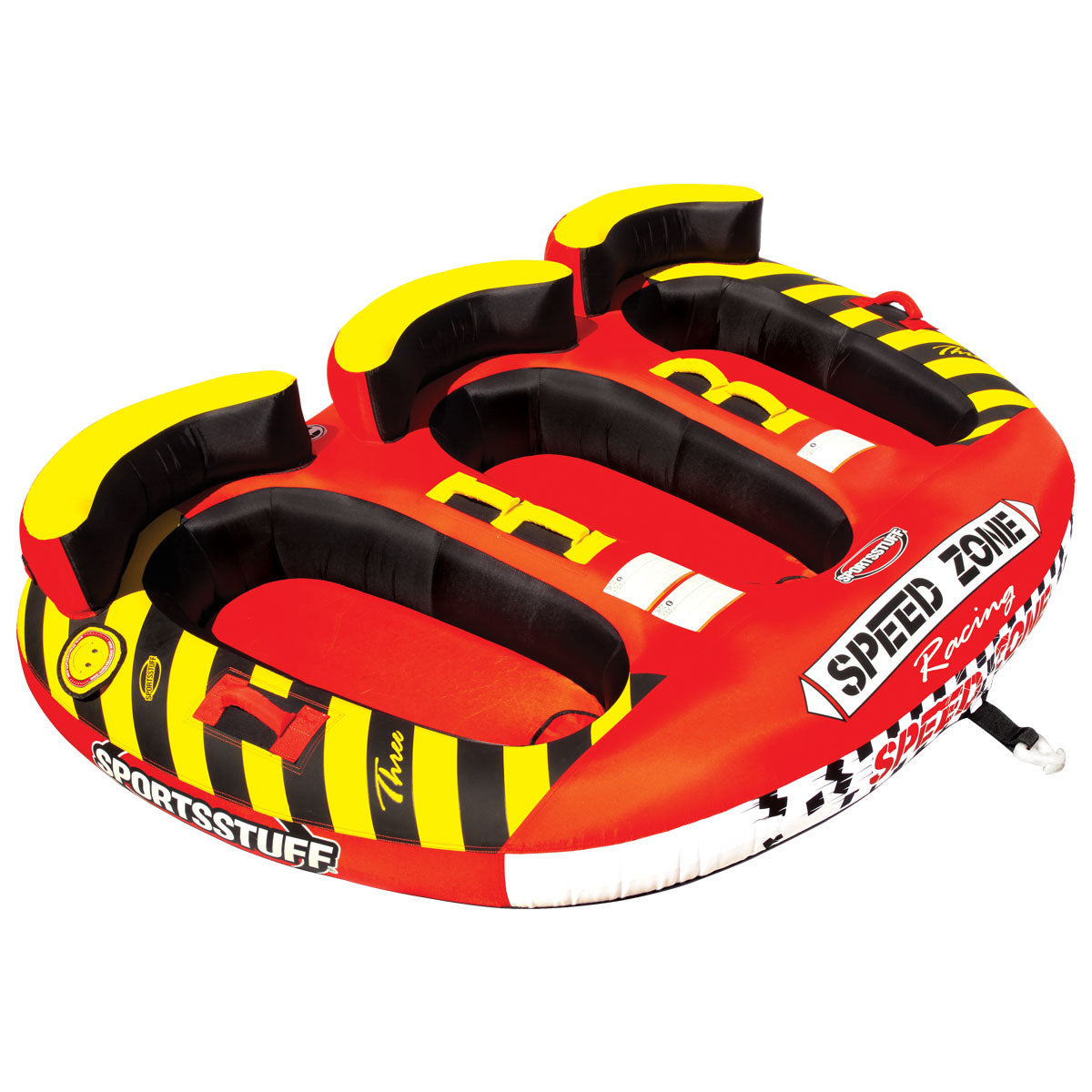 Boat Parts Inflatables New Sportsstuff Towable Boat Tube 3 Rider Speedzone 3 Spo 531940