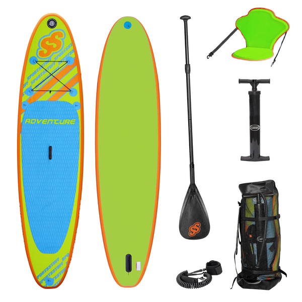 Adventure 1030 iSUP with Paddle and Leash  - AIRHEAD Sports Group