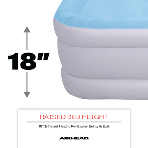 Airhead-Queen Air Mattress with Built-in Pump-