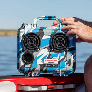 Airhead-Demerbox Waterproof Outdoor Bluetooth Speaker: Camo Cool-