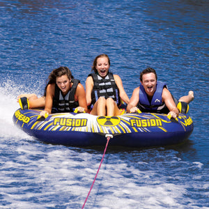 Fusion 2 - inflatable 3 person boat tube with kwik connector