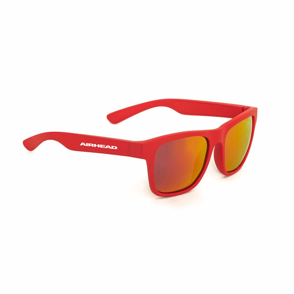Airhead-Classic Floating Sunglasses-Red