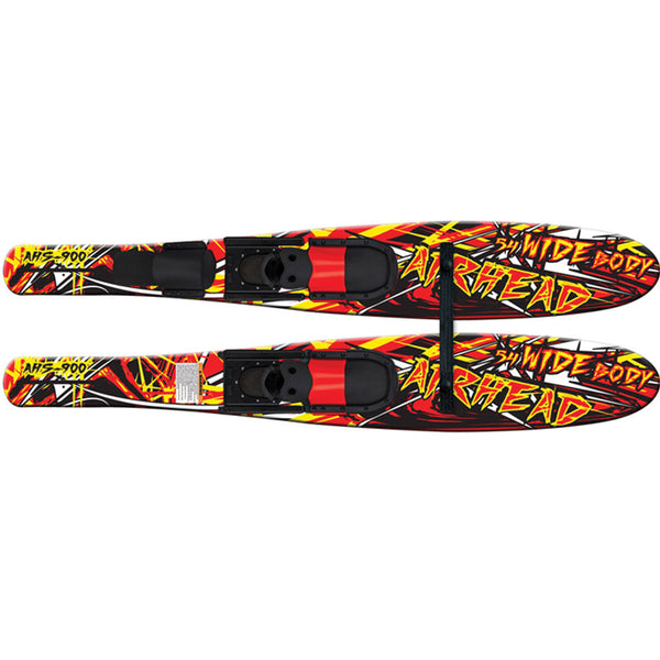 54 inch long wide body combo water skis