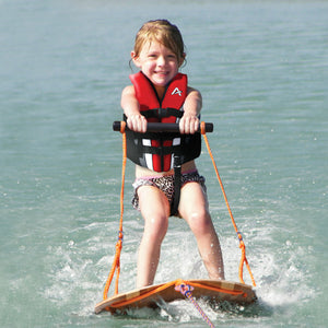 U-Ski - Bamboo water ski trainer for kids features fun duck graphics kids love!
