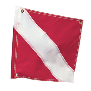 Airhead-Dive Flag (20 x 24)-
