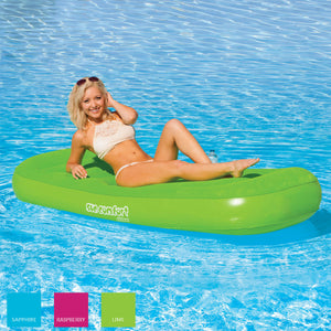 Airhead-Sun Comfort Cool Suede Pool Lounge-Lime