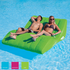 Airhead-SunComfort Cool Suede Zero Gravity Double Lounge-Lime