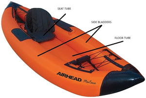 Airhead-Kayak Tube Bladder (not complete unit)-