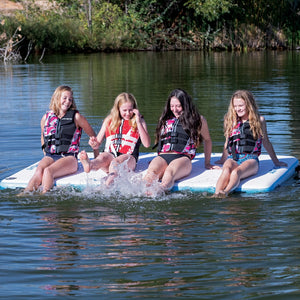 Airhead-WaterMat Air Inflatable Floating Deck-