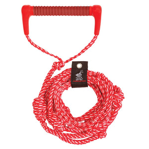 Airhead-25 Foot Wakesurf Rope-Electric Red