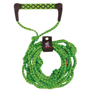 Airhead-25 Foot Wakesurf Rope-Electric Green